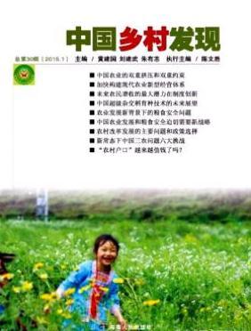 中国乡村发现湖南省农村期刊