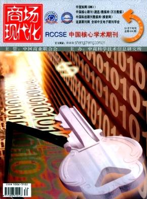 《商场现代化》经济期刊投稿