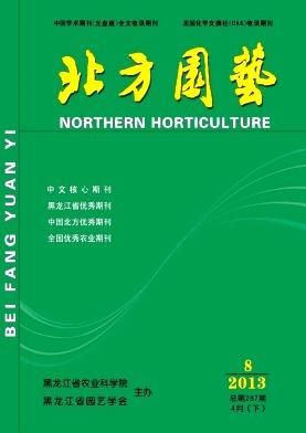 《北方园艺》核心农业期刊征稿