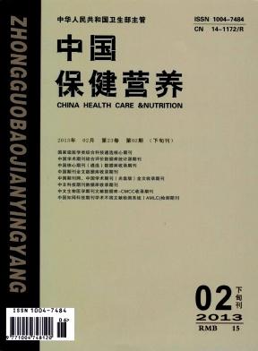 《中国保健营养》国家级医学期刊征稿