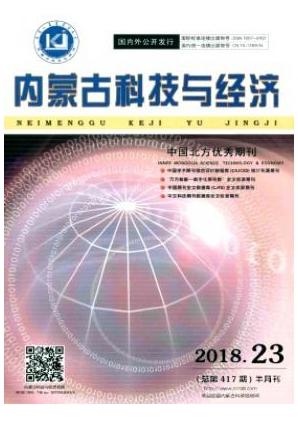 内蒙古科技与经济科技期刊发表