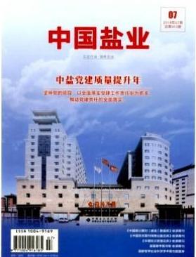 中国盐业工业经济综合期刊