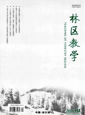 林区教学黑龙江省教育期刊