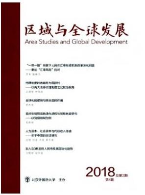 区域与全球发展国家级期刊投稿