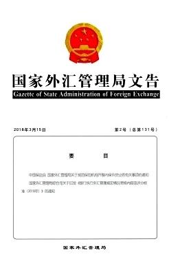 国家外汇管理局文告国家级刊物