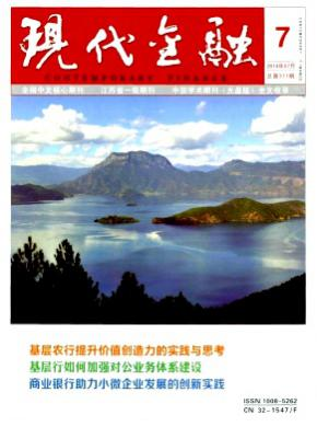 江苏省经济期刊现代金融