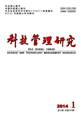《科技管理研究》省级科技期刊论文投稿
