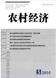 《农村经济》核心期刊发表