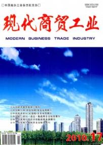 《现代商贸工业》发表经济学论文